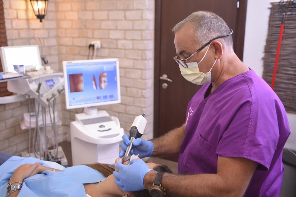 סריקת שיניים דיגיטלית במרפאה